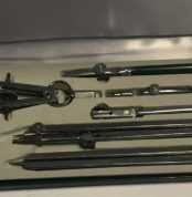 set of drawing instruments